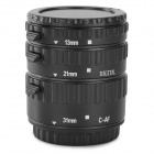EOSCN C-AF AFAuto Focus Macro Extension Tube Set for Canon - Black