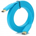 HDMI Male to Male Flat Cable - Sky Blue (1080p / 3D Transmission)