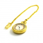NEW Retro Fashionable Zinc Alloy Quartz Pocket Watch - Golden (1 x 377S)