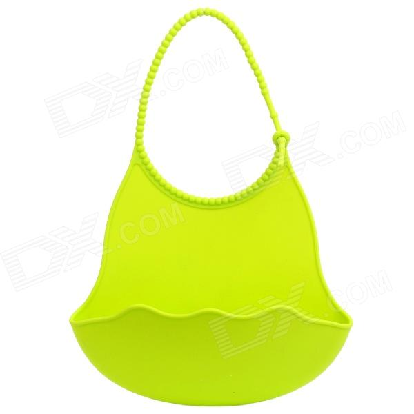 GEL-41 Waterproof Silicone Baby / Infant Bib - Light Green