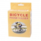 360 ° de giro de bicicleta Phone Holder - Black