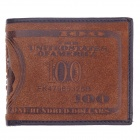 WEIJUESHI 238-1# Vogue PU Leather Folding Men's Wallet - Coffee