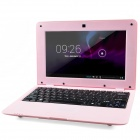 "LZ1001 10"" Android 4.2 Netbook w/ RJ45 / Wi-Fi / Camera / Bluetooth / Wi-Fi - Pink"