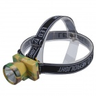 SingFire SF-810 Semileds P20 C35 100lm 2-Mode White Headlamp Headlight - Green + Yellow (1 x 103450)