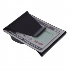 10050124W Stainless Steel Money clip - Black