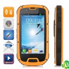 "S09 MTK6589 Quad-Core Ultra-Rugged Waterproof Android 4.2 WCDMA Cellphone w/ 4.3"" IPS, 4GB ROM"