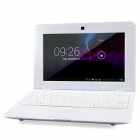 "LZ1001 10"" Android 4.2 Netbook w/ RJ45 / Wi-Fi / Camera / Bluetooth / Wi-Fi - White"