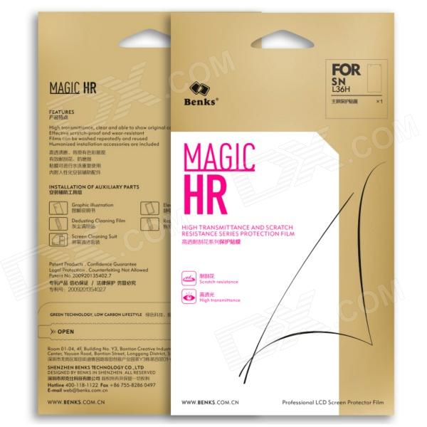 Magic HR High Transparent and Scratch Resistance Series Protective Film for Sony Xperia Z L36h nidhi gondaliya and sweta patel methicilin resistance staphylococcus aureus skin
