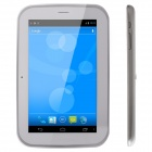 "THTF E710 7"" Android 4.1 2G Phone Tablet PC w/ 512MB RAM, 4GB ROM, Dual Cams - Silver Grey + White"