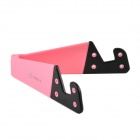 CHEERLINK ABS Holder Stand for Cell Phone / Tablet PC - Pink + Black