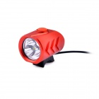 LusteFire P3 3 x CREE XM-L T6 4-Mode 2000LM White Bike Light / Headlamp - Red