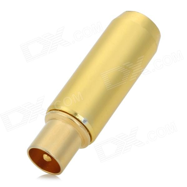 Waterproof Wired TV Antenna / STB Signal / IEC Connector - Golden