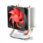 Pccoler Red Sea K3 Standard CPU Heatsink Cooling Fan Support Multiplatforms - Red + Black + Silver