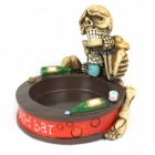 Resin Alcohol Skeleton Ashtray - Multi-colored