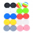 Anti-slip Silicone Analog Thumb Stick / Joystick Caps for Xbox 360 PS3 / PS2 - Multicolored (20 PCS)