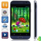 "C2 MTK6572 Dual-Core Android 4.2.2 WCDMA Bar Phone w/ 4.0"", Wi-Fi, FM and GPS - Dark Blue"