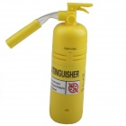 Mini Extinguisher Style Desktop Vacuum - Yellow (2 x AA)