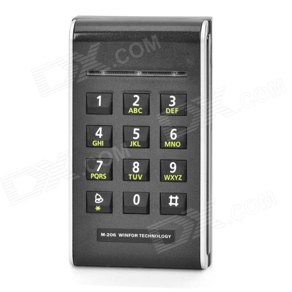 ZnDiy-BRY M-206E ID Card Password Access Control System Attendance Machine - Black
