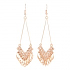 Fashion Gold Plate Alloy Earring - Golden