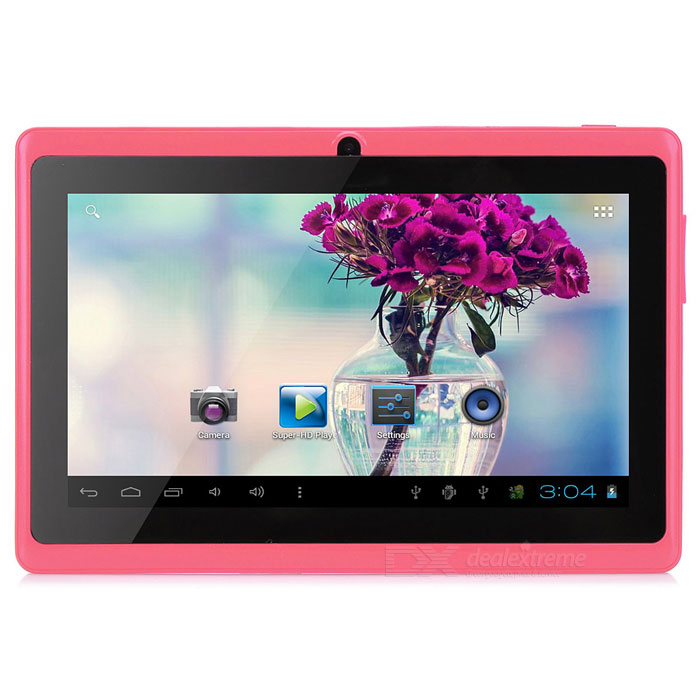 MID-756 7 Android 4.2 Tablet PC w/ 512MB RAM / 8GB ROM / Dual Camera / OTG - Red + Black ce emc lvd fcc ozone generator for water treatment