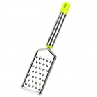 Kitchen Tool Stainless Steel Grater - Silver + Green
