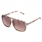 Fashion Resin Lens UV400 Protection Sunglasses - Brown