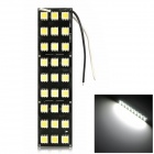 exLED 6W 486lm 27-SMD 5050 LED Car Reading Light / Retrofit Lamp / Trunk Light / Dome Light - (12V)