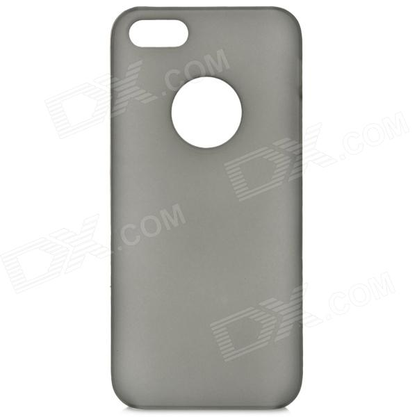 Protective PC Matte Back Case for Iphone 5S - Translucent Black цена