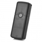 007 Mini USB Flash Drive Shape GSM / GPS Personal Position Tracker - Black (AC 100~240V / EU plug)