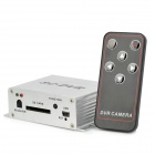 SC-DVR 1-CH 5-Mode Recording Mini DVR w / Remote Controller (PAL / NTSC)