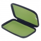 "G-COVER 6"" PU + Nylon GPS Protect Bag - Black + Green"