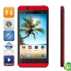 "CUBOT ONE Quad-Core Android 4.2.1 WCDMA Barphone w/ 4.7"" Screen, Wi-Fi, GPS and Quad-Core - Red"
