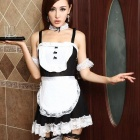 Maid Outfit Maid for Role Playing - Black + White