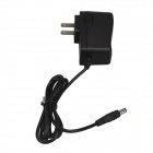 SingFire US3-85525 AC Power laddare Adapter - svart (5,5 x 2,5 mm / 116cm-kabel / 100 ~ 240V / USA plugg)
