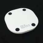 Universal QI Standard Mobile Wireless Charger - White