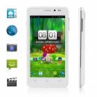 "Utime U9 MT6589 Quad-Core Android 4.2 WCDMA Bar Phone w / 4,5 ""IPS, 4GB ROM, Wi-Fi, GPS, 8MP - Weiß"