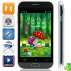 "C2 MTK6572 Dual-core Android 4.2.2 WCDMA Bar Phone w/ 4.0"", 512MB RAM, 4GB ROM, FM and GPS - Grey"