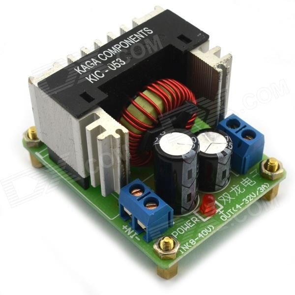 DC~DC Step Down Module / Adjust Current Voltage Power Supply Module - Green