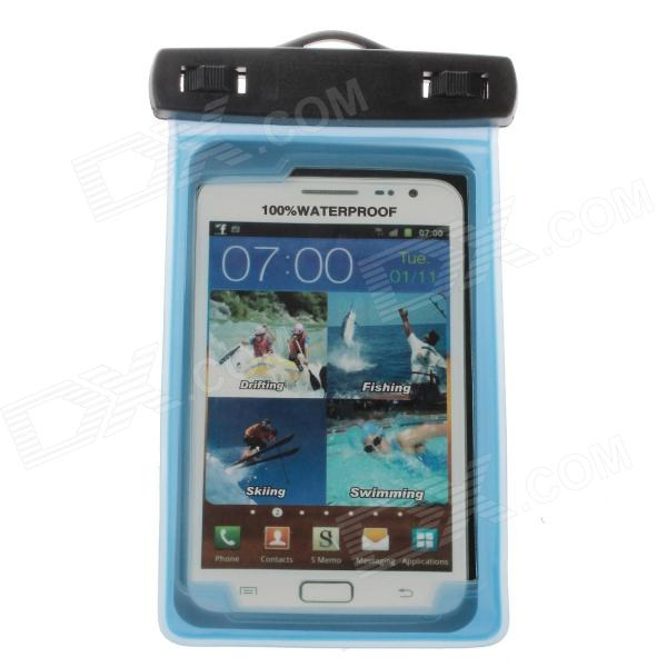 Protective Waterproof Bag Case w/ Strap / Armband for Samsung Note 2 N7100 / S4 i9500