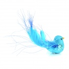 Lifelike Canary Style Sticker for Refrigerator - Blue