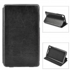 Detachable Protective PU Leather Case for Google Nexus 7 II - Black