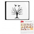 "Creative Tree Style Decoration Sticker for Macbook 11"" / 13"" / 15"" / 17"" - Black"
