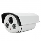SpecialVisual SV-778 1/3 CCD Sony Effio-E 750TVL CCTV Camera w/ 2-IR LED - White + Black (PAL)