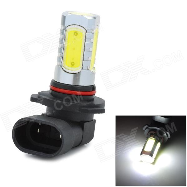 W-LGX9005-10W 9005 10W 6500K 900lm 5-COB LED White Light Car Foglight - Silver + Yellow (10~30V) wf90053522 highlight 9005 3w 210lm 1 smd led white light car foglight dc 12v