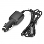 Car Cigarette Lighter Adapter Charger for Asus TF201 / TF101 / TF300T - Black (DC 12~24V / 140cm)