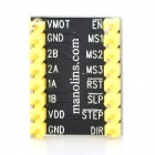 MR01 Stepper Motor Driver Board for Reprap 3D Printer / Arduino - Black + Yellow