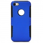 Y-4-2-1 Protective PC + Silicone Back Case for Iphone 5C - Blue + Black