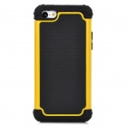 Detachable 2-in-1 Protective Silicone + TPU Back Case for Iphone 5C - Yellow + Black