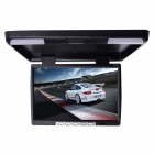 "Kangsung TU-154 15.4"" High-Resolution Car Flip Down Monitor w / FM / VGA / 2-Channel AV-in - Black"