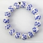 Blue And White Porcelain Plum Flower Bracelet